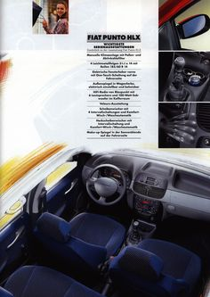 https://flic.kr/p/Ei3n2p   Fiat Punto; 2000_3 car brochure by worldtravellib World Travel library