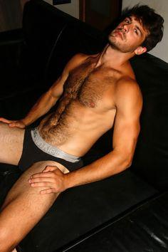 Fashion Trends for Men & Hot Male Models Hairy Hunks, Hairy Men, Chris Hemsworth, Men's Undies, Underwear, Ideal Boyfriend, Scruffy Men, Handsome Boys, Bear Men