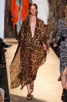 leopard caftan