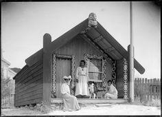 Makereti Papakura's whare Tukiterangi at Whakarewarewa Once Were Warriors, Polynesian People, Flax Weaving, Maori Designs, Maori Art, He Is Able, School Life, Kiwi, Art Inspo
