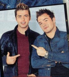 Markus Feehily, Brian Mcfadden, Shane Filan, My Darling, Famous People, All About Time, The Past, Cinema, Marvel