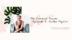 The Creative Pause is a video series hosted by Stacey Fay and Susan Padron. In a time of solitude and fear, we are cultivating joy, love and connection. Ways To Reduce Stress, Stress Less, Creative, Youtube, Youtubers