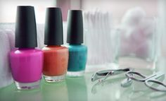 Groupon - Three Basic or Shellac Manicures at New Beginnings Nail Salon (51% Off) in Londonderry. Groupon deal price: $25.00