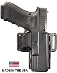 Uncle Mikes Reflex Holster http://www.reactgear.com/Uncle-Mikes-Reflex-Holster-p/74211-p.htm  The Uncle Mikes Reflex Holster is Made in the U.S.A. The Uncle Mikes Reflex Holster is a Kydex outside-the-waistband, strong-side holster with a internal retention device that holds a gun securely until needed. Concealed Carry Holsters http://www.reactgear.com/Concealed-Carry-s/71.htm