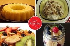 receitas sobremesas saudáveis