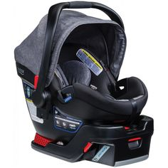 BEST Infant Carseat!!! Light Weight but holds a large infant...even my 1.5 year old still! I LOVE this grey fabric too. Base is really easy to install.     Britax B-Safe 35 Elite Car Seat - Free Shipping - BabyCubby.com