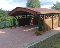 Spaces Carport Design, Pictures, Remodel, Decor and Ideas - page 3