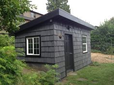 Garden shed with living roof - The Sweet Seattle Life