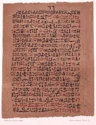 Ancient Egyptian scripts used to write