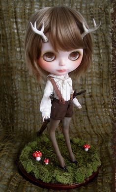 deer blythe commission by kitty bee on Flickr.