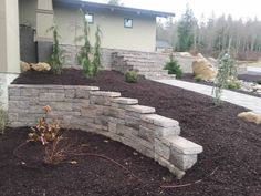 A retaining wall a can add incredible functionality and curb appeal to your property.    Understanding Retaining Walls    A retaining wall generally holds back soil where there is a large change in elevation. The retaining wall is a type of landscape design feature commonly used to terrace yards which originally had a steep slope. The retaining wall has