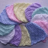 Looking for crocheting project inspiration? Check out Newborn Caps - Baby Hats by member JeanieK.