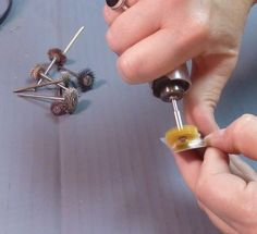 OUT with the scratch! (or how to polish your metal) via Jewelry Artists Network