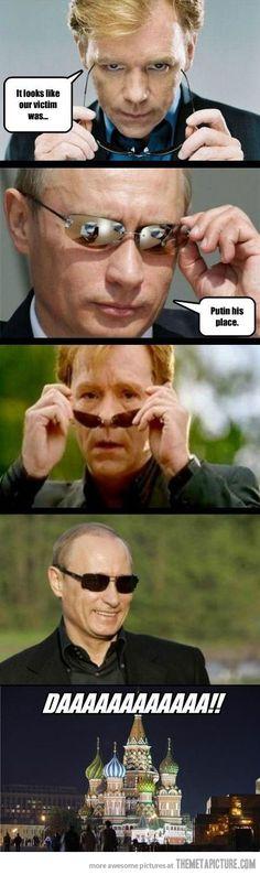 Putin Sunglasses Meme