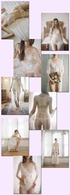 Claire Pettibone wedding lingerie to die for!