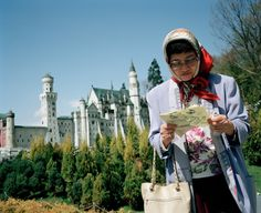 Martin Parr - JAPAN. Tobu World Square. A theme park that features scale models of the worlds most famous sites. 1993.