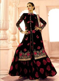 http://www.sareesaga.in/index.php?route=product/product&product_id=22390 Work:Embroidered Resham Work LaceStyle:A - Line Lehenga Shipping Time:10 to 12 DaysOccasion:Festival Reception Fabric:GeorgetteColour:Black For Inquiry Or Any Query Related To Product, Contact :- 91-9825192886, +91-7405449283