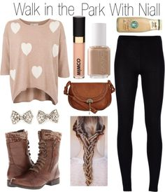 """""""Walk in the Park With Niall"""" by one-direction-outfits1 ❤ liked on Polyvore"""