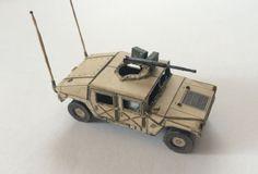 Humvee HMMWV M1025 Mk.2 Free Paper Model Download