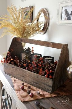 Natural Fall Decor - Love Create Celebrate