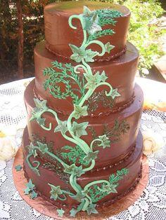 Chocolate Ivy Cake