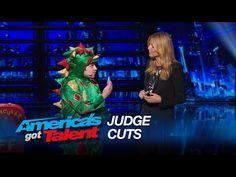 Judges cuts Piff the Magic Dragon - America's Got Talent 2015 - YouTube
