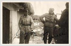 Panzer Meyer et Max Wunsche.