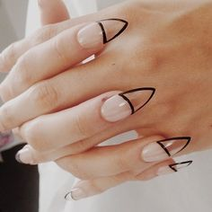 Clear nails nails nail pretty nails clear nail ideas nail designs _______ I'm into the transparency trend so much right now.