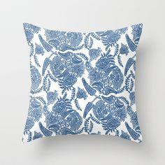 Linen Throw Pillow by Allison Holdridge - $20.00