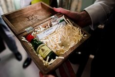 Presents for the groomsmen... at this Bowood House, Wiltshire wedding