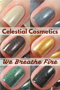 Celestial Cosmetics - We Breathe Fire collection Australian Store- www.celestialcosmetics.com.au US Store (worldwide shipping)- www.celestialcosmetics.com