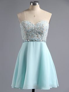 Light Blue Sleeveless Mini Sweetheart Chiffon A Line Strapless Short Homecoming . - - Light Blue Sleeveless Mini Sweetheart Chiffon A Line Strapless Short Homecoming Dress Source by storenvy Teal Homecoming Dresses, Vintage Homecoming Dresses, Graduation Dresses, Dresses For Teens, Cute Dresses, Hoco Dresses, Formal Dresses, Semi Dresses, Bridesmaid Dresses