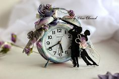 Wedding Altered Clock - Prima Marketing