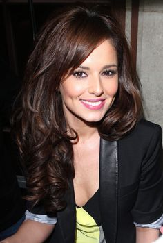 Cheryl Cole--love this shade of brunette- This is my ideal shade of hair!!
