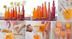 Floreros originales que puedes hacer con lo que tienes en casa