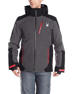 Spyder Chambers Jacket Polar CrosshatchBlackFormula Medium >>> Want to know more, click on the image. (This is an affiliate link)