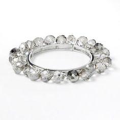 Simply Vera Vera Wang Silver-Tone Stretch Bracelet