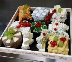 Plateau de fromages de la fromagerie Rovecchio
