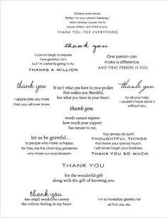 Wedding Thank You Card Wording New Calendar Template Site