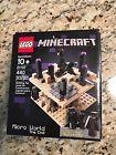 LEGO Minecraft Micro World The End (21107)  Rare!  HTF!  Complete!  Retired!