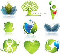 Impresionantes atención de la salud y los símbolos de la ecología colores armónicos Hermosas Foto de archivo - 13719641