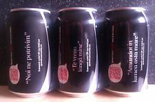 """(C)ROMANIAN EMPTY COCA-COLA ZERO, """"TELL HIM/HER WITH A SONG"""" EDITION, LIMITED, 3"""