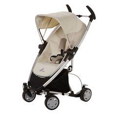 Quinny Zapp Xtra Stroller - Natural Mavis Forward-or rear-facing seat with multi-position recline