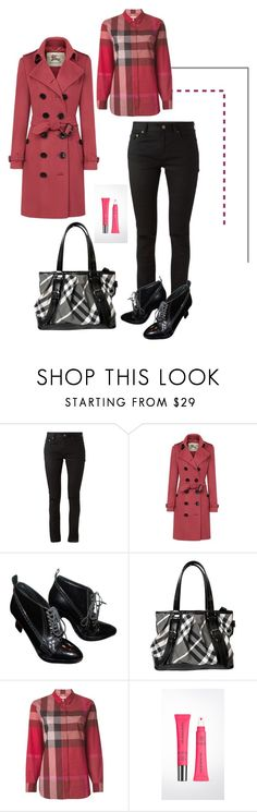 """""""Senza titolo #3319"""" by zenaidarielle ❤ liked on Polyvore featuring Yves Saint Laurent, Burberry, women's clothing, women's fashion, women, female, woman, misses and juniors"""