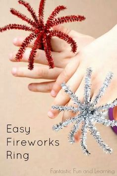 Fire works rings