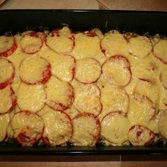 Vegetáriánus rakott cukkini Recept képekkel -   Mindmegette.hu - Receptek