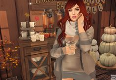 https://flic.kr/p/CPzyYh | Hot Chocolate Keeping Me Warm #SecondLife #SLhttp://www.cryssiecarver.com/2017/10/hot-chocolate-keeping-me-warm.html