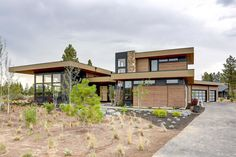 Plan 54240HU: Modern Mountain Home Plan With Light And Airy Floor Plan