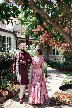 Wedding Outfits For Groom, Sikh Wedding, Punjabi Wedding, Bridal Outfits, Wedding Dresses, Indian Wedding Photos, Bridal Poses, Sydney Wedding, Couple Outfits