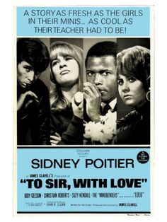 To Sir With Love, Australian Movie Poster, 1967 Giclee Print at Art.com